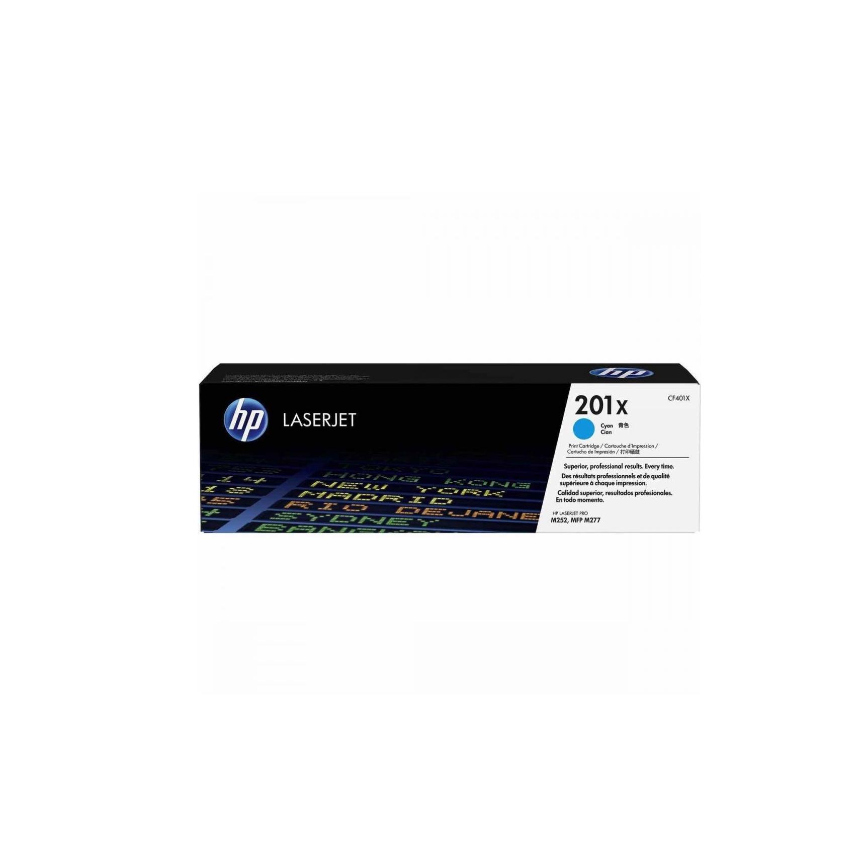 Лазерный картридж 201X CF401X