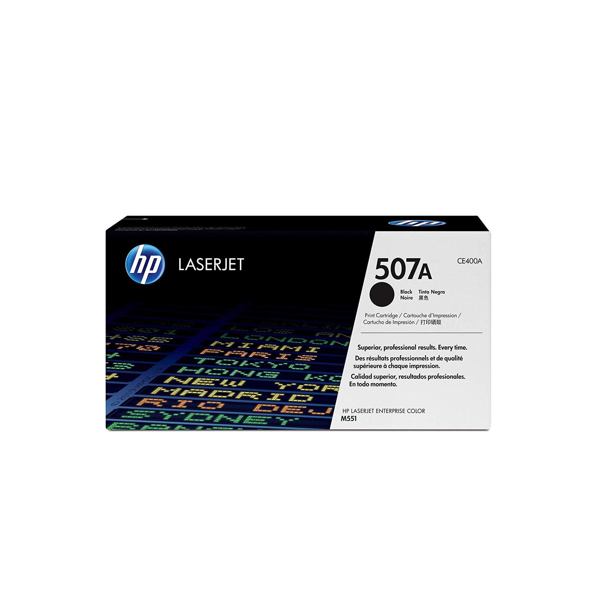 Лазерный картридж 507A CE400A