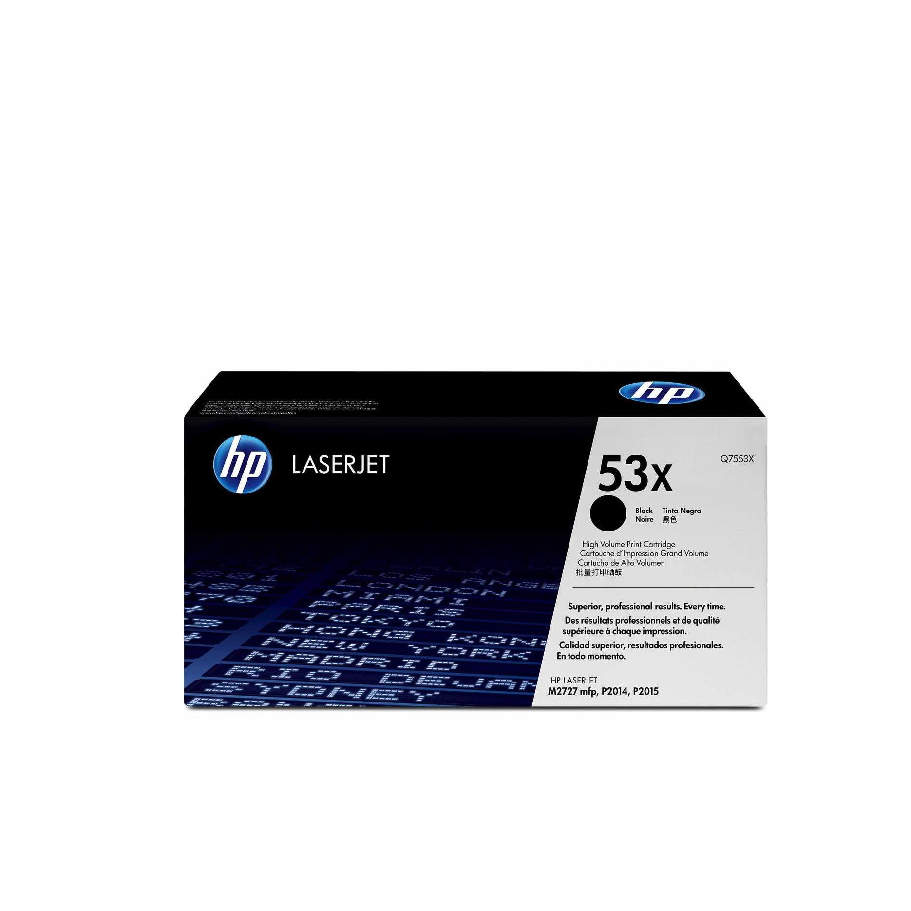 Лазерный картридж 53X Q7553X