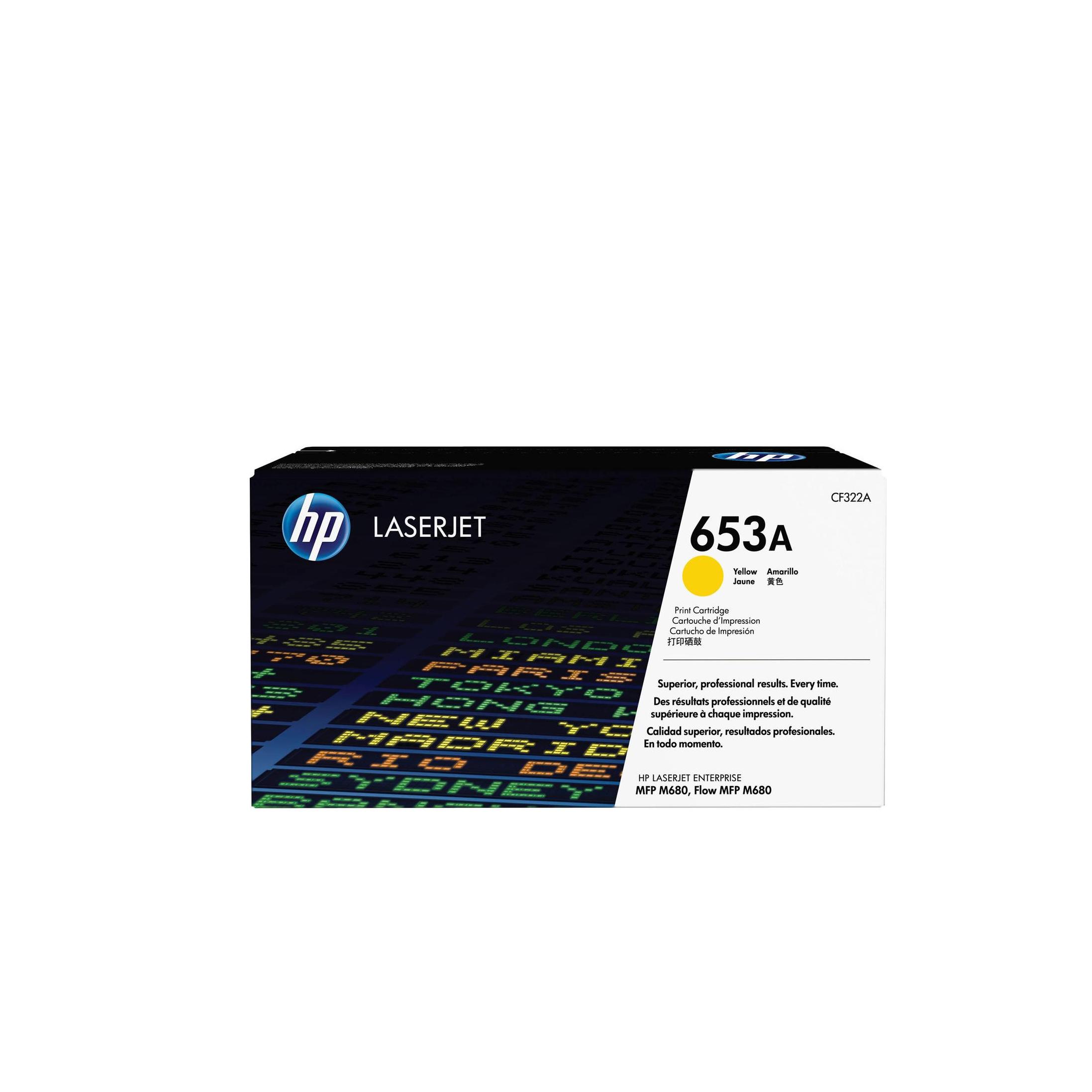Лазерный картридж 653A CF322A