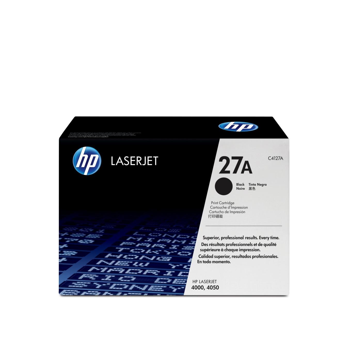 Лазерный картридж 27A C4127A
