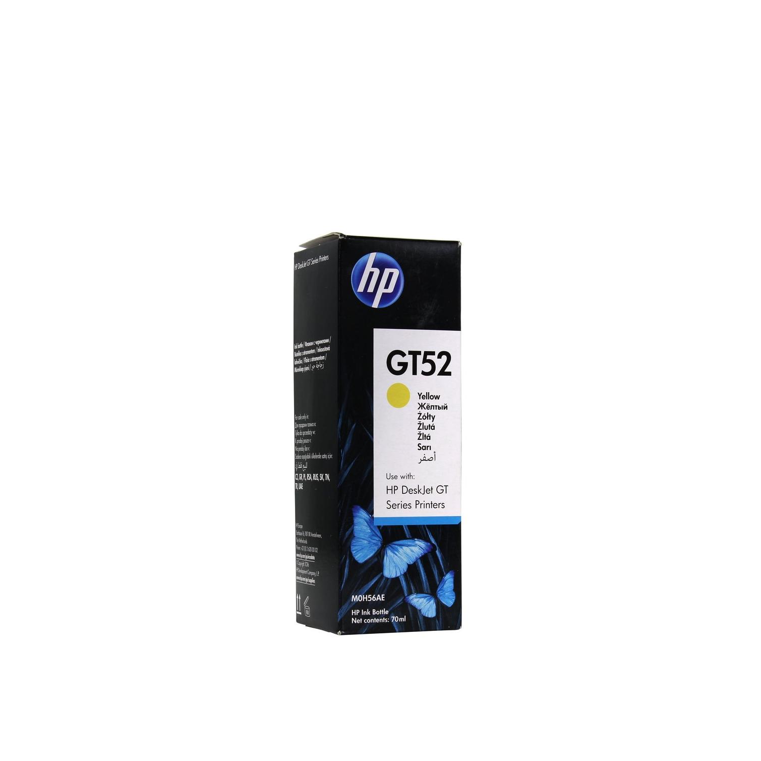 Чернила для печатного оборудования GT52 Y M0H56AE