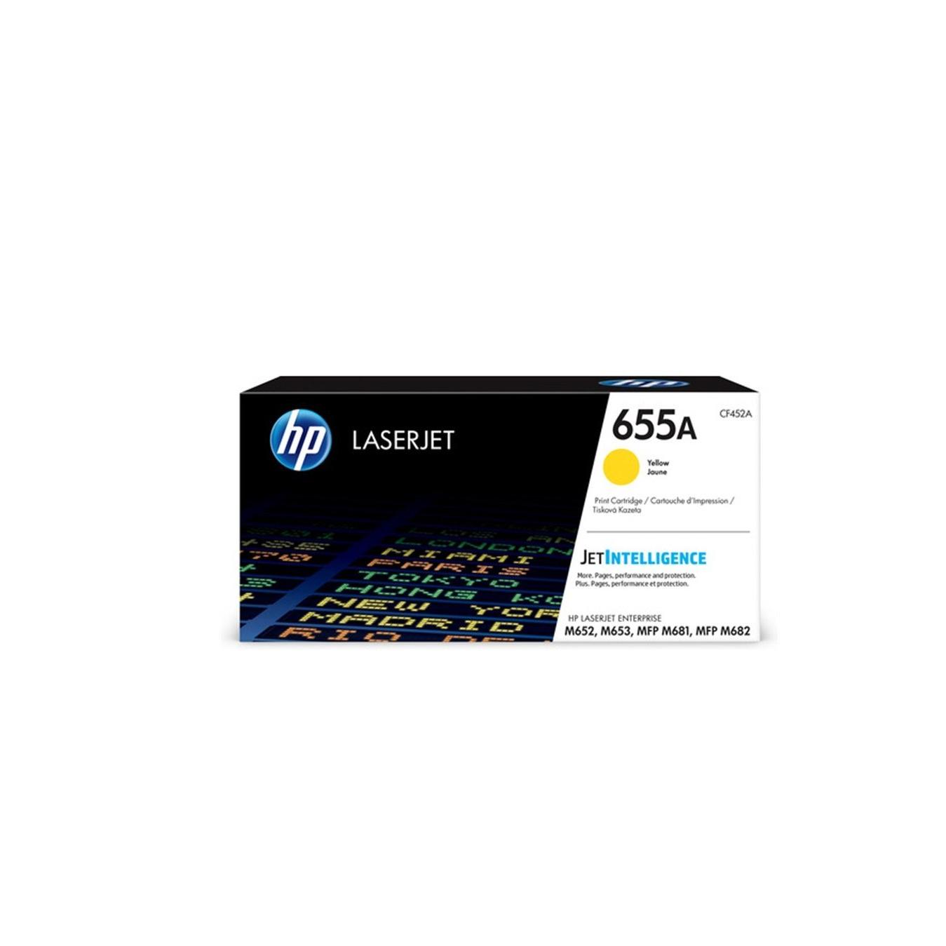 Лазерный картридж 655A CF452A