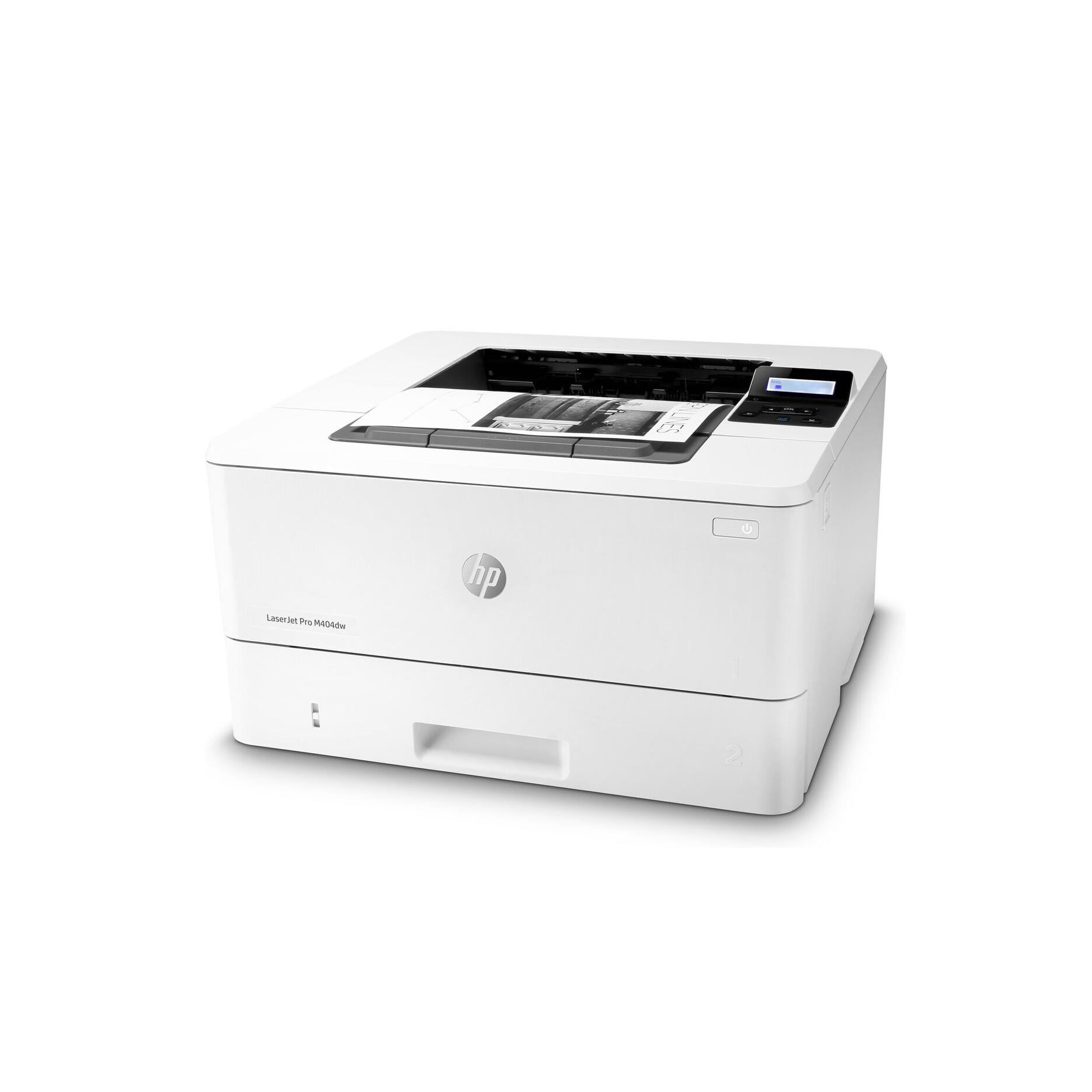 Принтер LaserJet Pro M404dn B W1A53A
