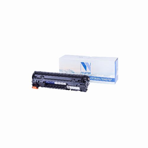 Лазерный картридж CF283X/Canon737 NV-CF283X/737