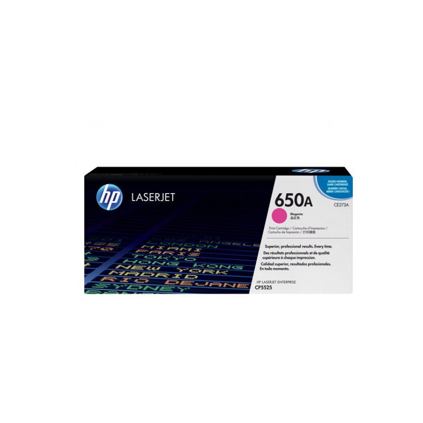 Лазерный картридж 650A CE273A
