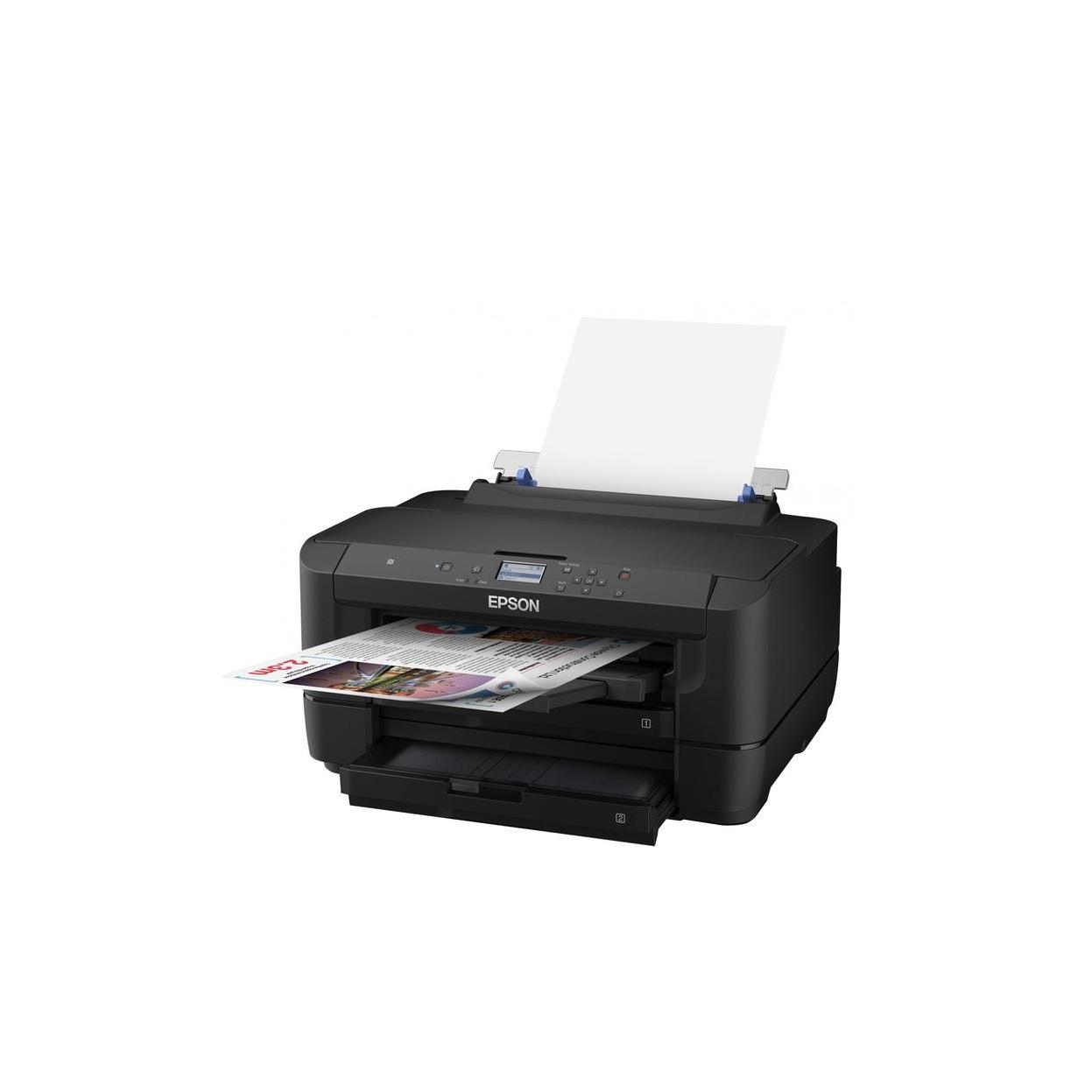 Принтер WorkForce WF-7210DTW Color C11CG38402