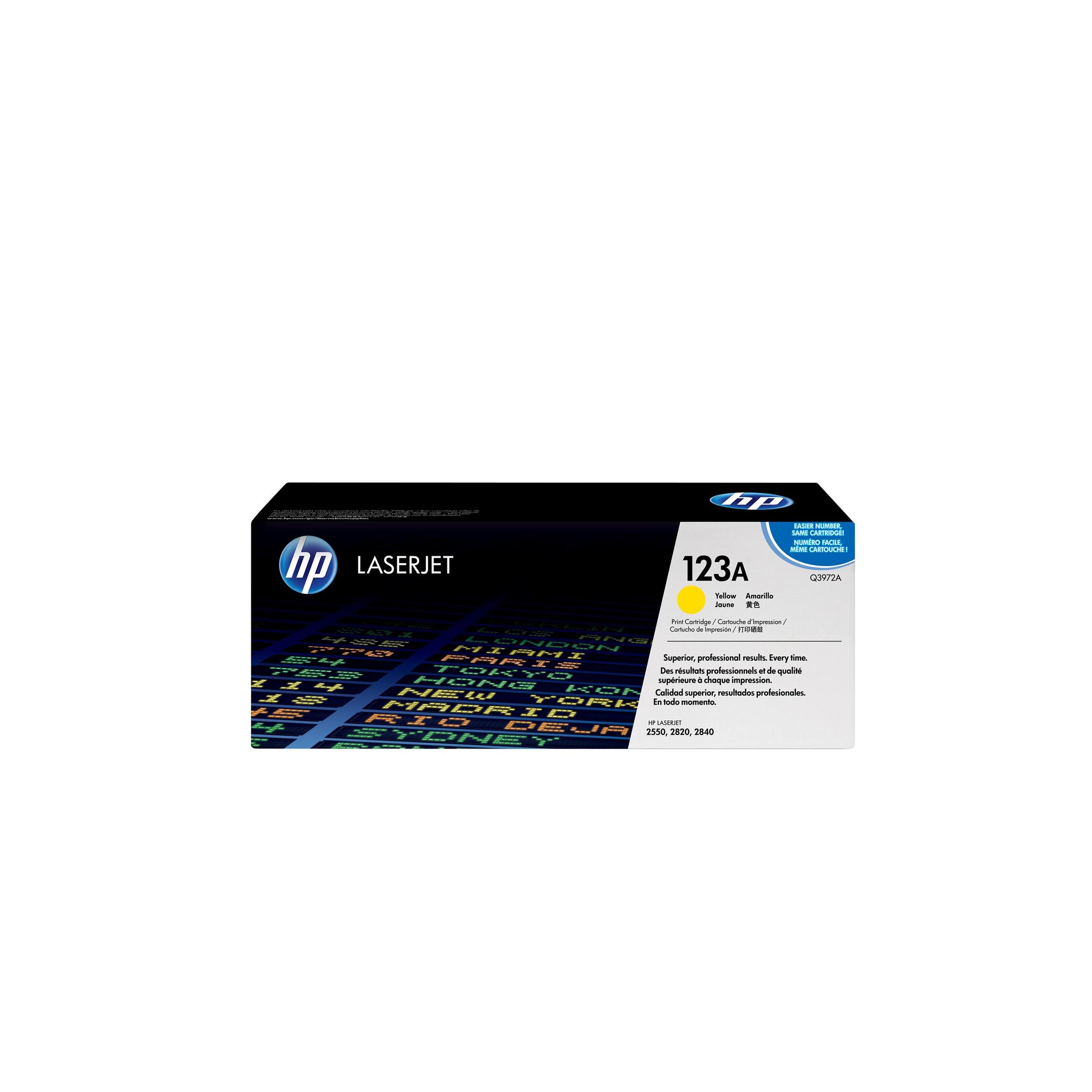 Лазерный картридж 123A Q3972A