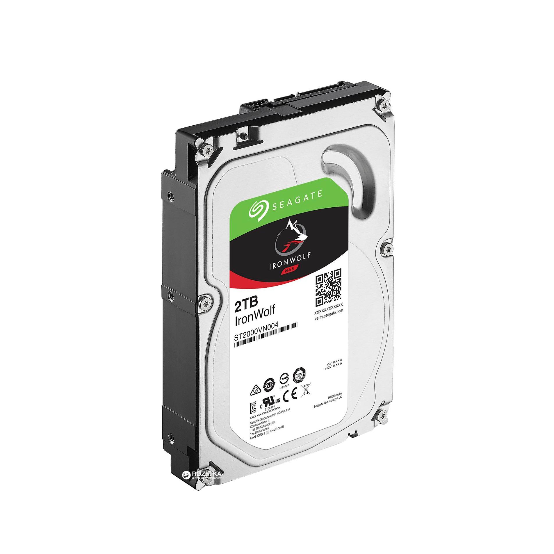 Жесткий диск внутренний IronWolf ST2000VN004 ST2000VN004