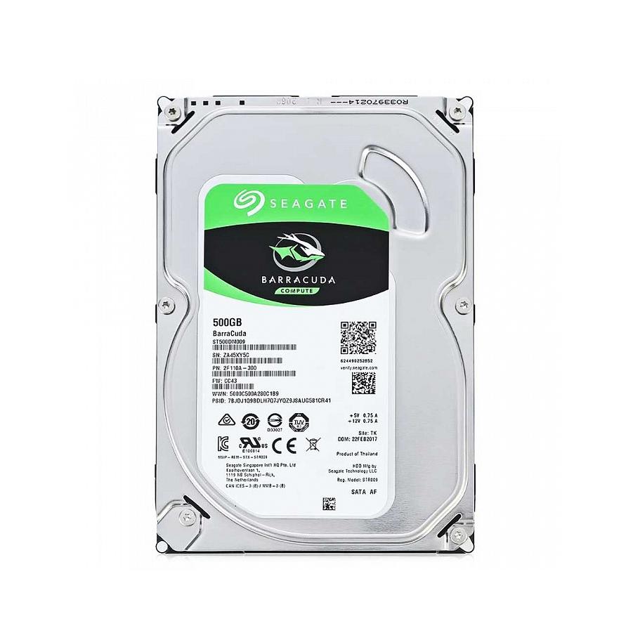 Жесткий диск внутренний BarraCuda     ST500DM009 ST500DM009