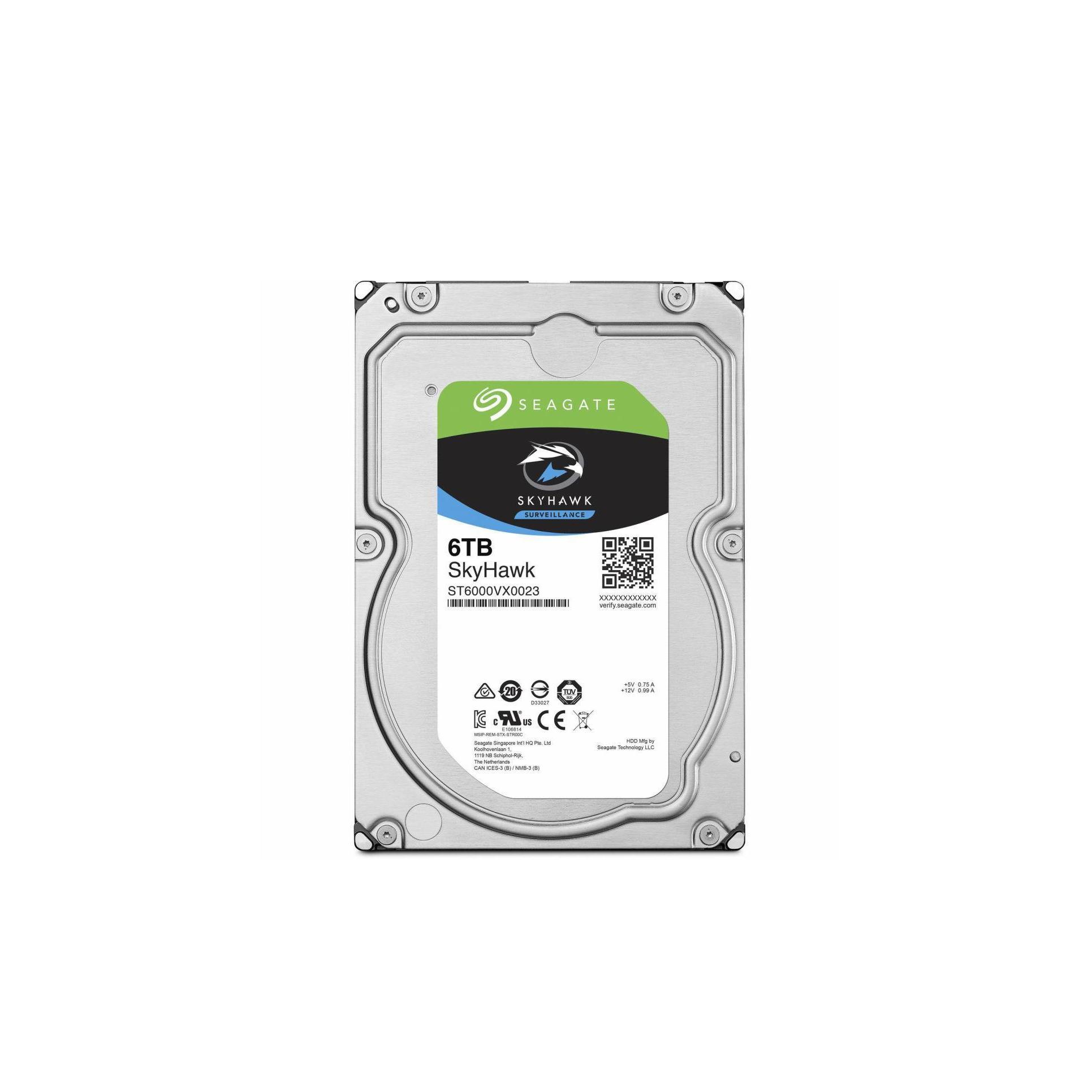 Жесткий диск внутренний Sky Hawk ST6000VX0023 ST6000VX0023