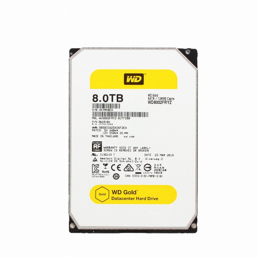 Жесткий диск внутренний GOLD  7200RPM WD8002FRYZ WD8002FRYZ